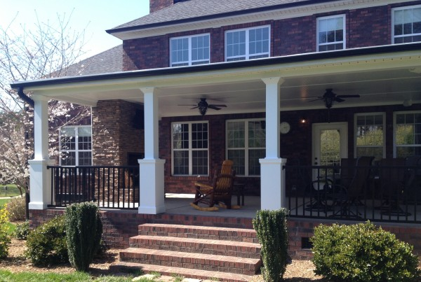 Cover Porch Addition Outdoor Living Cornelius NC Lake Norman
