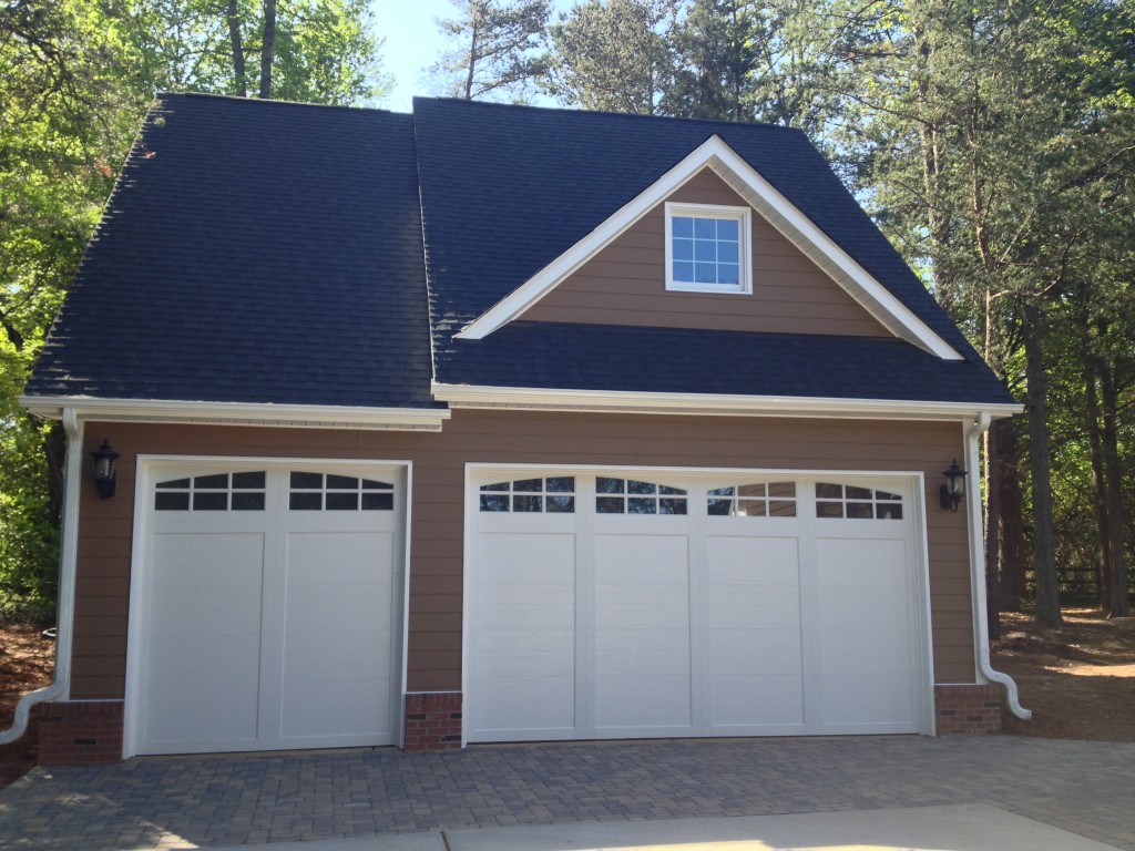 3 car detached garage cornelius nc henderson building for Home designs 3 car garage