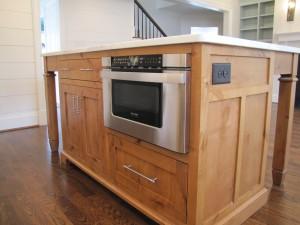 Custom Made Kitchen Island - Charlotte - Henderson Building ...